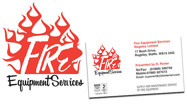 Fire Equipment Services - Company re-branding for a maintenance service and supplier of fire equipment